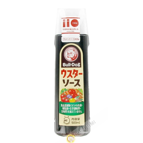 Sauce anglaise BULLDOG 500ml Japon