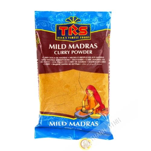 Madras suave de Curry en polvo, TRS 400g de la India