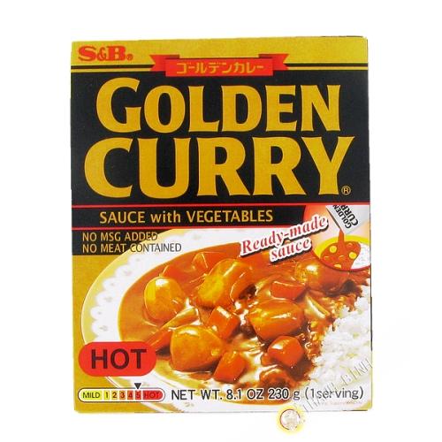 Preparation for curry - vegetables Hot 230g JP