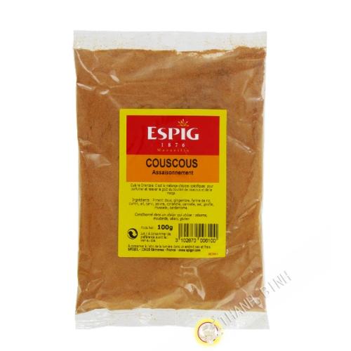 Epices Couscous ESPIG 100g France