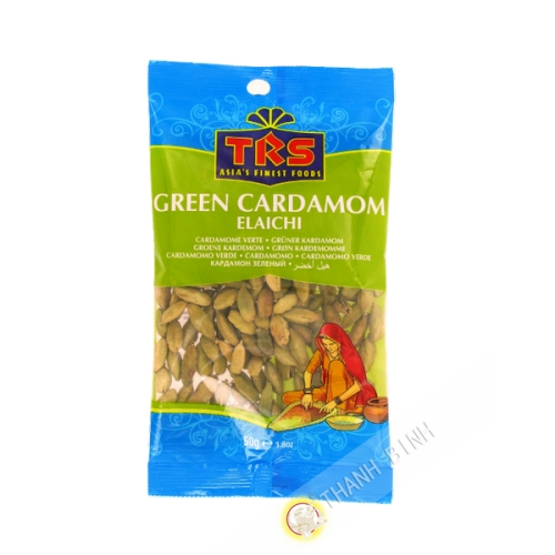 Cardamome vert TRS 50g Royaume-Uni
