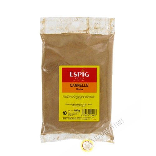Ground cinnamon ESPIG 100g France