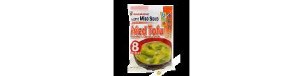 Soupe de miso tofu frit instantanée MARUKOME 190g Japon