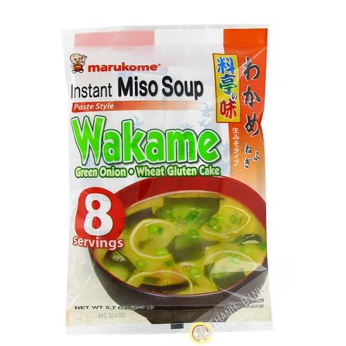 Sopa de Miso wakame instantanee 190 g JP