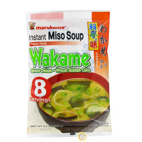 Soupe miso wakame instantanee 190g JP