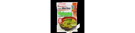 Soupe de miso wakame instantanée MARUKOME 190g Japon