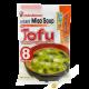 Soupe miso instant tofu 180g JP