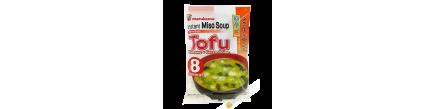 Zuppa di Miso sokuseki ryotei no aji tofu MARUKOME 180g Giappone