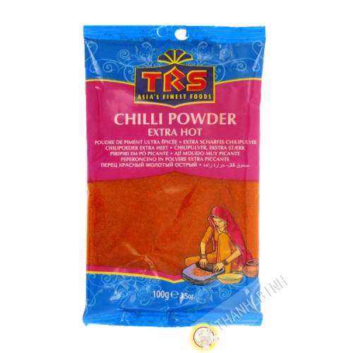 Chili powder ultra spicy TRS 100g India