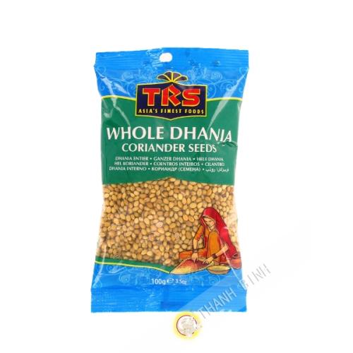 Cilantro Dhania todo el TRS 100g India