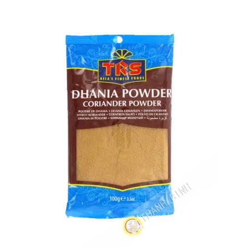 Coriandre Dhania en poudre TRS 100g Inde