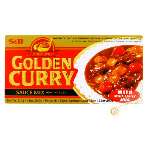 Preparation for mild curry 240g JP