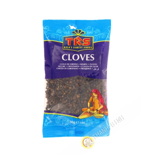 Cloves whole TRS 50g United Kingdom