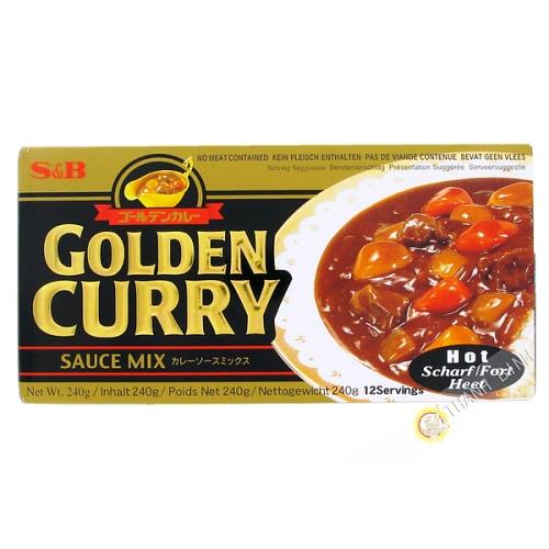 Preparation pour curry tres epice 240g JP