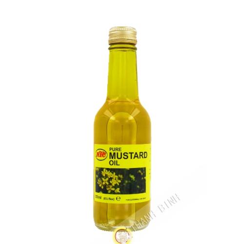 L'olio di senape KTC 250ml regno Unito