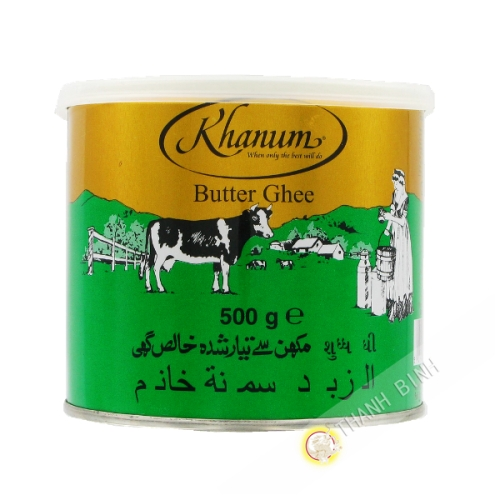 Il burro di ghee KHANUM 500g Rouyaume-Regno