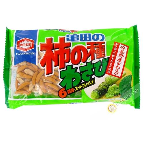 Biscotin riz wasabi 210g JP