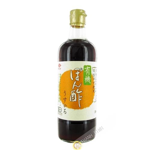 Soy Sauce, vinegar, Ponzu organic CHOKO 500ml Japan
