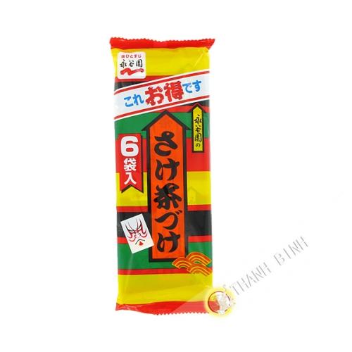 Assaisonnement soupe de riz sake chazuke NAGATANIEN 33g Japon