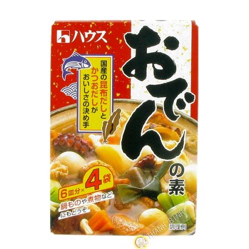 Assaissonnement pour soupe Oden HOUSE 77.2g Japon