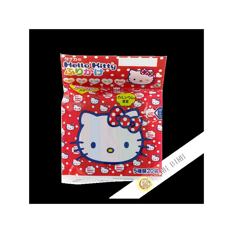 El Condimento De Arroz Caliente Kiti Furikake TANAKA 48g Japón