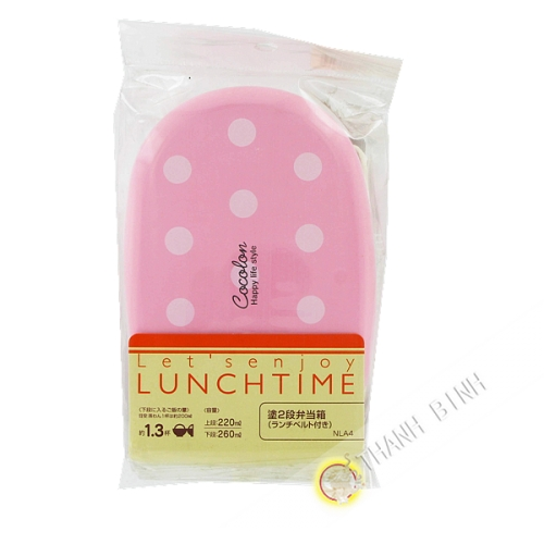 Lunch box pink 4 pcs JP