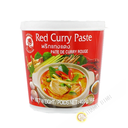 Pate curry rouge 400g
