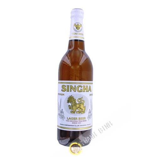 La cerveza Singha 630ml