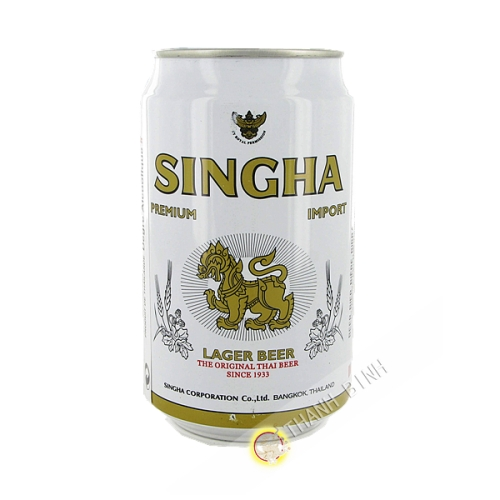 La cerveza Singha 330 ml PUEDE