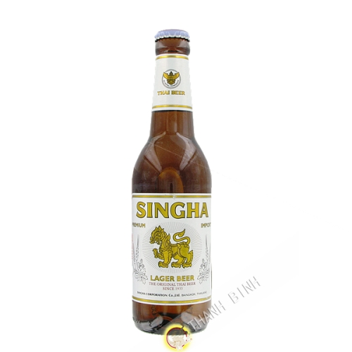 La cerveza Singha 330 ml