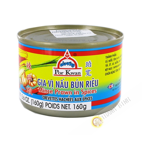 Shrimp chopped with spices POR KWAN 160g Thailand