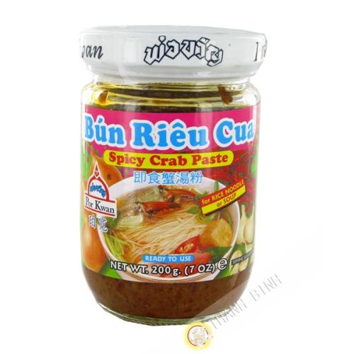 Sauce Bun rieu cua spicy crab POR KWAN 200g Thailand