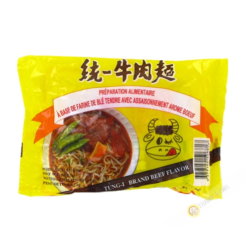 Soup noodle chair beef TUNG-I 85g Taiwan
