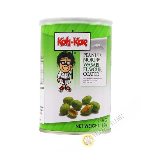Cacahuete wasabi 115g