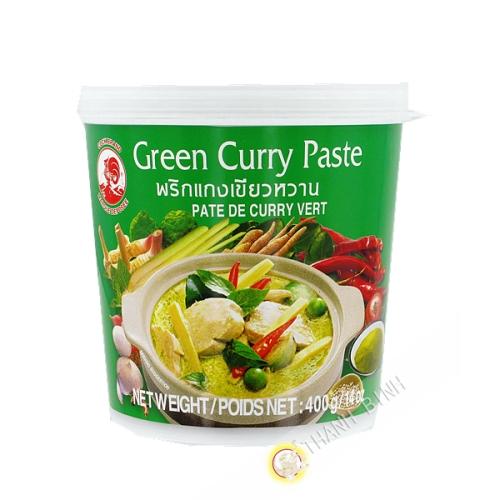 Pate curry vert 400g