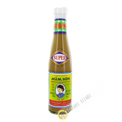Sauce sardellen Mam Nem CO-BA-200ml Thailand