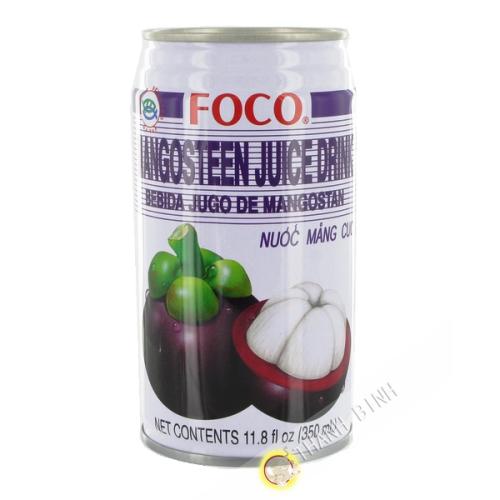 El jugo de mangostán 350ml
