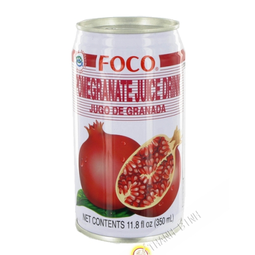 Pomegranate juice FOCO 350ml Thailand