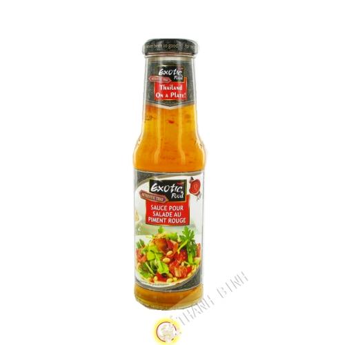 Salsa de pimiento rojo aderezo de ensalada 250ml