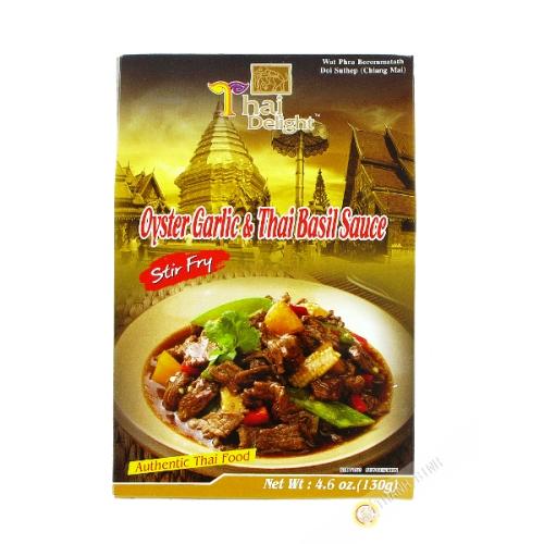 Sauce d'huitre ail-basilic 130g