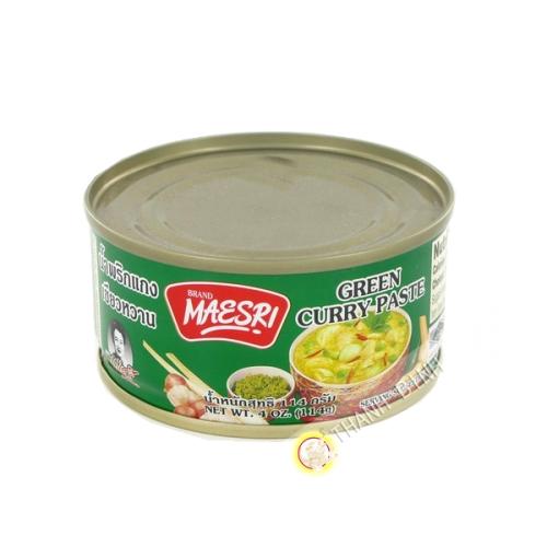 Maesri curry vert 114g