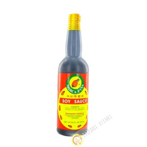 Salsa di soia con ananas Marca pina 750ml