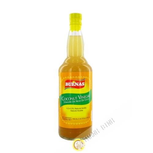 El vinagre de coco 750 ml