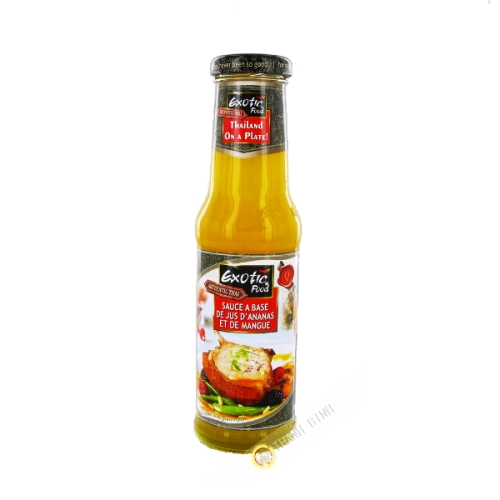 Sauce ananas & mangue 250ml