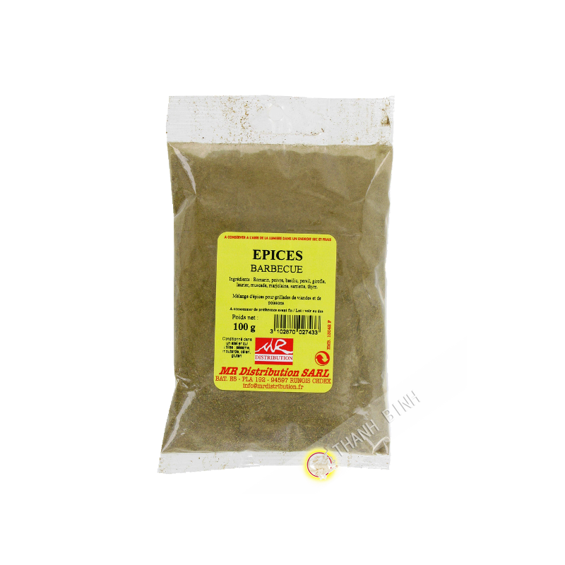exotic spices spices barbecue 100g