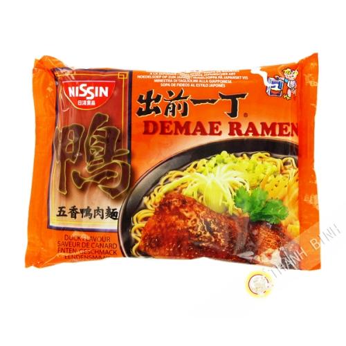 Soup noodle Ramen Demae duck NISSIN 100g Hungary