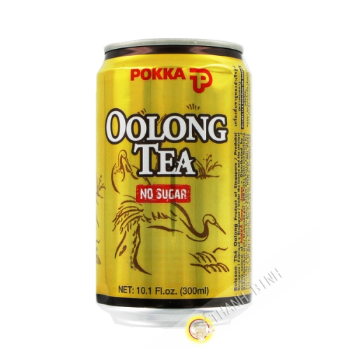 Beber té Oolong sin azúcar POKKA 330 ml de Singapur