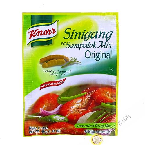 Tamarind powder Sinigang Sa Sampalok KNORR 40g Philippines