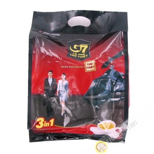 Café crème solube G7 Trung Nguyên 3/1 instantané 50x16g - Vietnam - Par avion