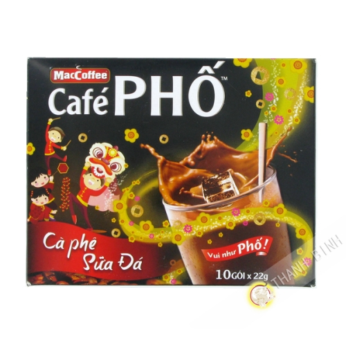 Café crème soluble Pho MAC COFFEE 10x24g Vietnam